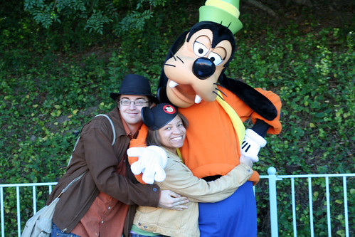Adam, Me, and Goofy!
