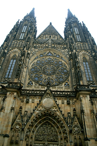 St Vitus's Cathedral in Prague