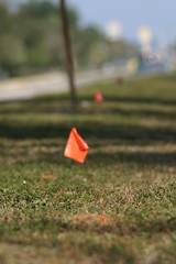 Utility marker flags