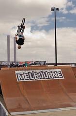 Rockstar BMX games 09 (D3 Photography) Tags: nikon rockstar sb600 sigma australia melbourne ramps docklands 2009 d3 50mmf14 qualifying bmxgames