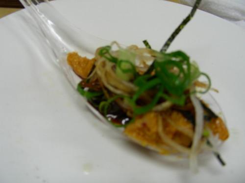 海苔、蘿蔔絲、蔥花、海膽