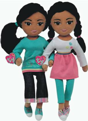 Malia and Sasha Dolls