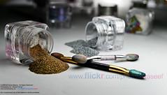 Nectar Beauty - Eye Shadows (Waseef Akhtar) Tags: color cosmetics homestudio eyeshadows strobist canoneos400d nectarbeauty