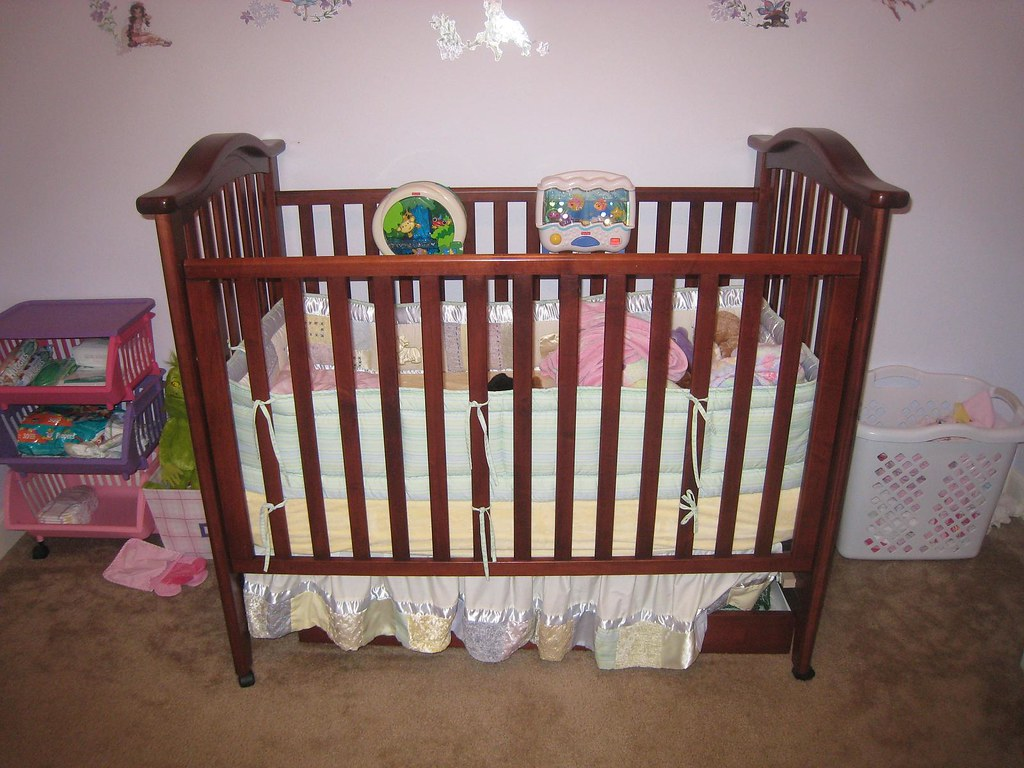 Legacy baby crib - front view