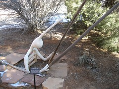 Picture or Video 129 (reflectification) Tags: sculpture statue utah desert moab desierto blanding edgeofthecedars