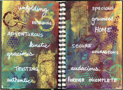 Art Journal: Qualities
