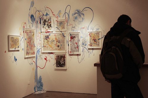 James Jean Exhibit, NYC