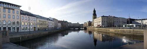 Center of Gothenburg panorama