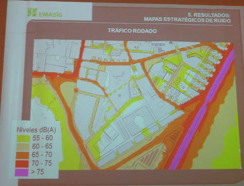 Mapa Estrategico Ruido Córdoba.