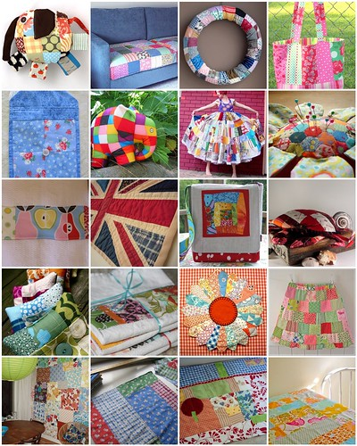 Patchwork, but not quilts