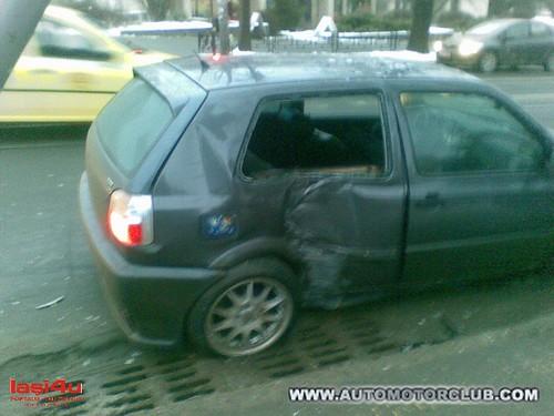 Accident Rutier VW Golf 3 vs. Opel Astra G