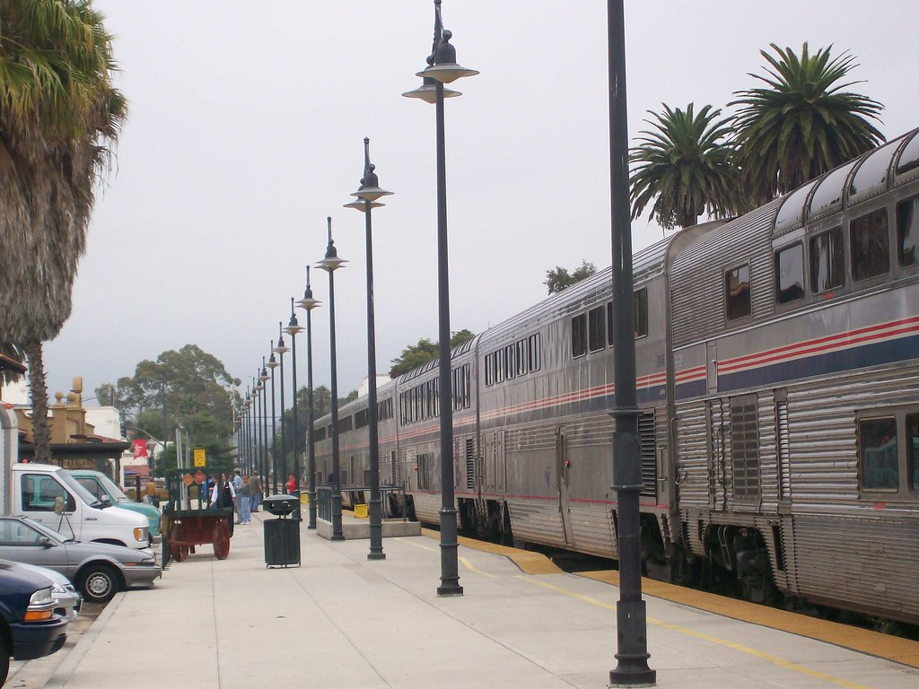 Coast Starlight in Santa Barbara