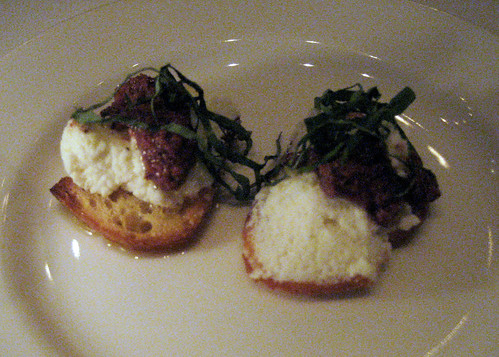 Crostini with Ricotta
