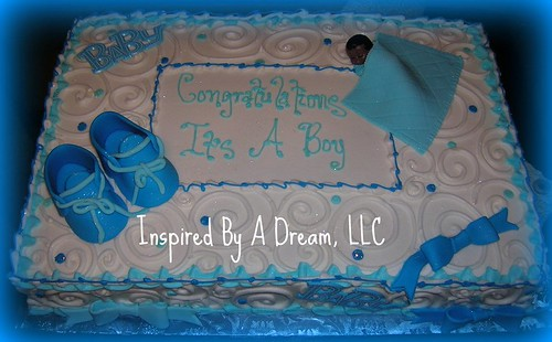 Itu0027s A Boy Baby Shower Cake