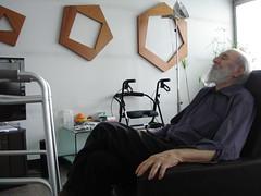 Bernie resting