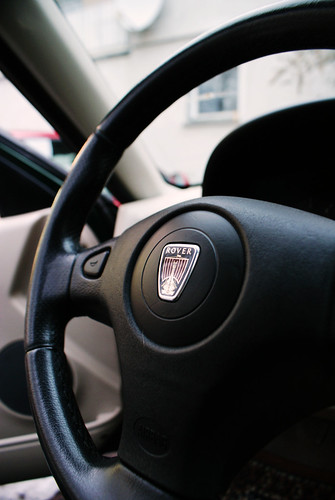Rover 25 Austria 2.0D steering wheel