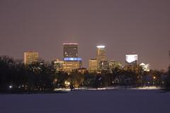 Minneapolis at Night (sankax) Tags: city winter lake minnesota skyline night minneapolis isles lakeoftheisles sigma105mm sigma105mmf28exdgmacro
