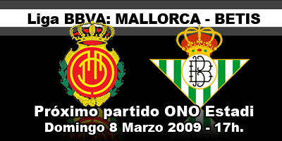 partido Liga Mallorca Betis
