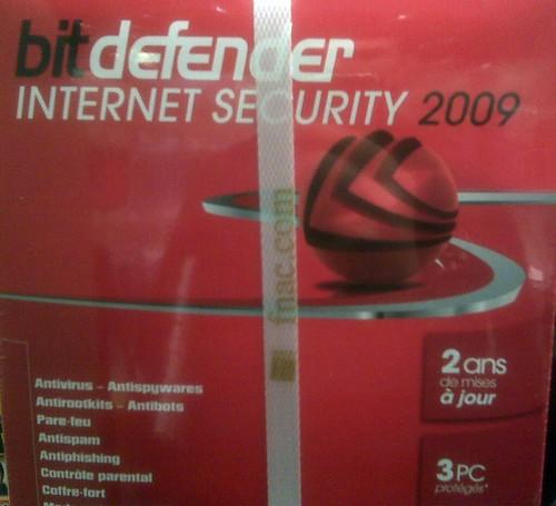 Bitdefender Internet Security 2009 à la FNAC