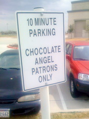 Chocolate Angel Patrons Only