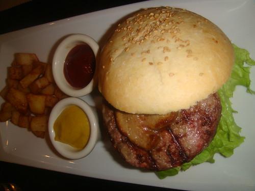 Hamburguesa de solomillo de ternera