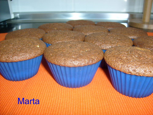 Magdalenas de chocolate y Pistachos 3344497968_d9d078b794