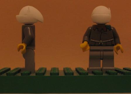 Lego Star wars Minifig Gunner custom minifig heads