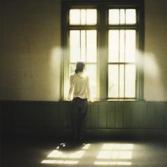 Curtain (toshi*) Tags: film polaroid 690slr fivestarsgallery rubyphotographer