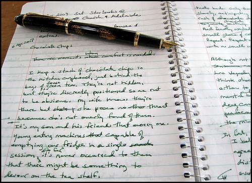 Write, write, write by StarbuckGuy
