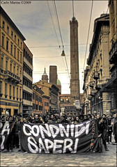 Bartleby (digitalTool ) Tags: universit protesta bologna bartleby onda studenti precario formazione socialit digitaltool carlomarrasphotography nogelmini