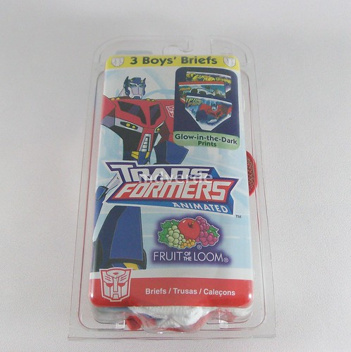 Calzoncillos de Transformers Animated - Paquete