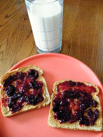 P.B & Black Cherry Raspberry Blood Orange Jam