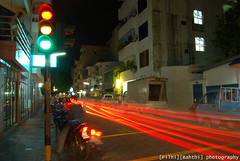 No speed limits on the road to excellence (Shimal Ahmed (Fulhi)) Tags: road light bulb photography exposure outdoor streetphotography rays maldives d40x uniquemaldives bismilaahirahmaaniraheem filhibahthi shimalahmed maldivianflickrchallenges myd40x ikidd