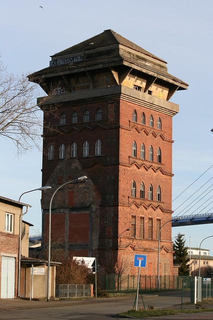 Ein Heizturm