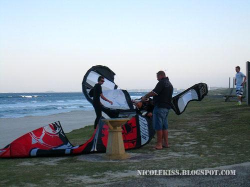 wind surfers