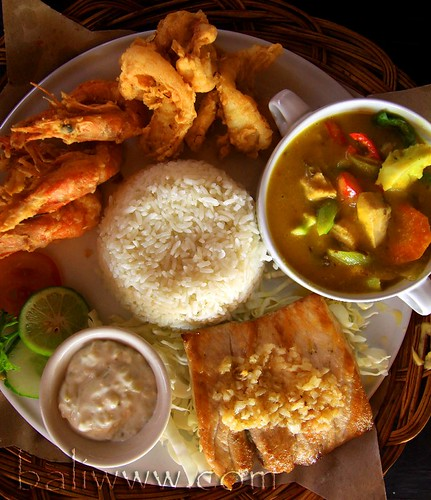 Seafood Basket @ Bintang Bali Restaurant