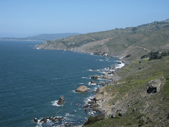 Pacific Coast from Muir Beach Overlook