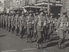 Australian soldiers march during World War II (UON Library,University of Newcastle, Australia) Tags: march military australia parade worldwarii soldiers worldwar2 universityofnewcastle percyhaslam a54171 worldwar19391945campaignspictorialworks worldwar19391945photography