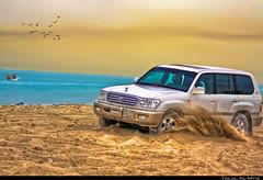 Land Cruiser (Talal Al-Mtn) Tags: car canon 4x4 toyota kuwait suv landcruiser q8 gxr      talalalmtn