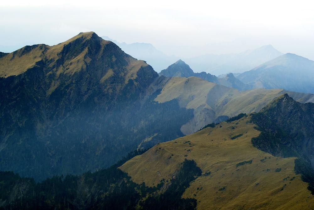 26-奇萊連峰:池山、主山、卡樓羅、南峰、能高主、能高南