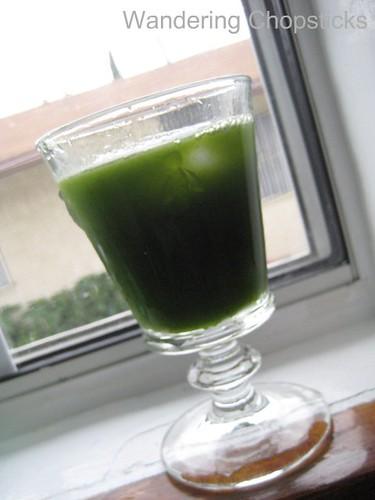 Nuoc Rau Ma (Vietnamese Pennywort Drink) 2