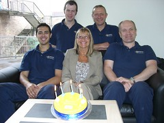 The Oven Gleam Team celebrate their 5th Birthd...