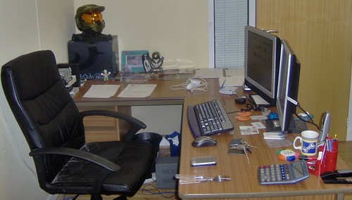 My corner of the office!
