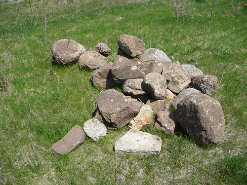 Rock Pile For the Goats
