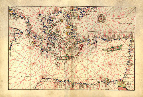 015-Atlas de Battista Agnese 1544