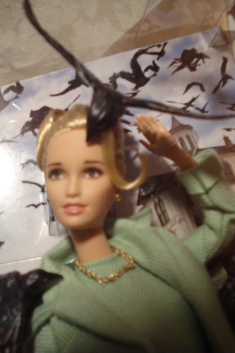 Closeup of Barbie