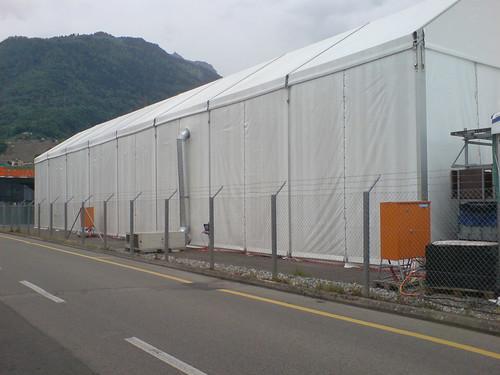Tentes Alinghi pour Cheesezilla