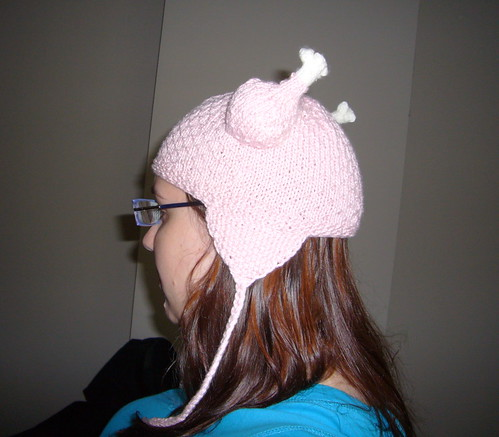 Viking Chicken Hat - Side View