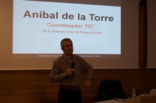 Aníbal de la Torre - MoodleMoot Euskadi 2009