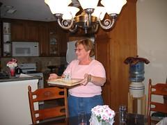 banana cake on my birthday